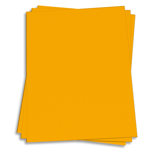 Galaxy Gold Card Stock - 8 1/2 x 11 Astrobrights 65lb Cover