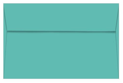 Lunar Blue Envelopes - A9 Astrobrights 5 3/4 x 8 3/4 Straight Flap 60T