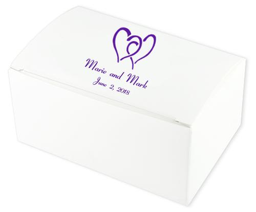 Hearts United Wedding Cake Boxes