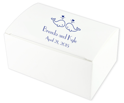 Whale You Wedding Cake Boxes