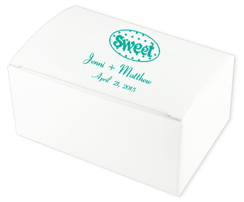 Sweet Wedding Cake Boxes