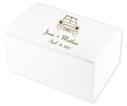 Wedding Car Wedding Cake Boxes