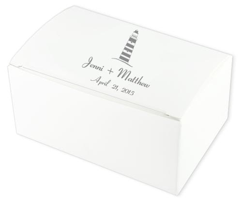 Lighthouse Wedding Cake Boxes