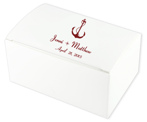 Anchor Wedding Cake Boxes