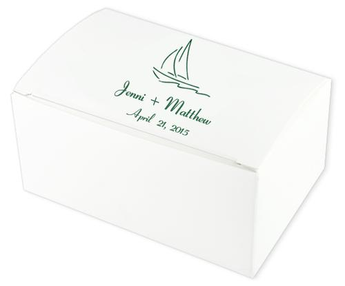 Sailing Wedding Cake Boxes