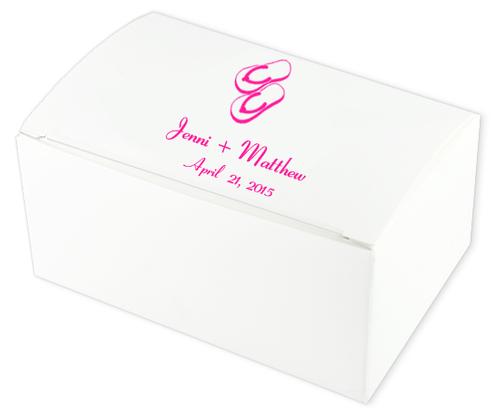 Flip Flops Wedding Cake Boxes