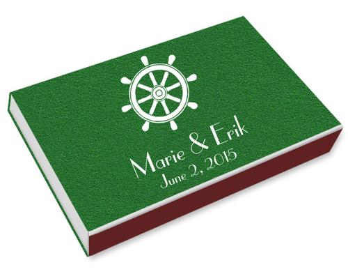 Nautical Printed Matchboxes