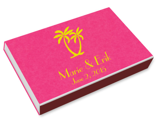 Palm Trees Printed Matchboxes