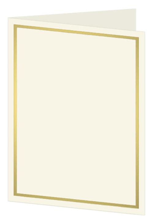 Luxury wedding programs for wedding PRINTED Wedding programs printed on gold metallic cardstock