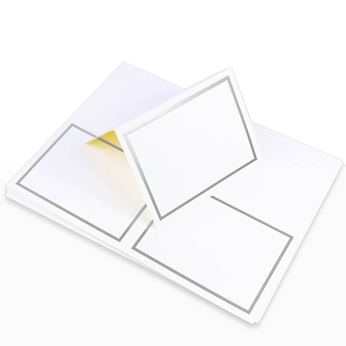 Pack of 500 A2 Folded Card 4 1//4 x 5 1//2