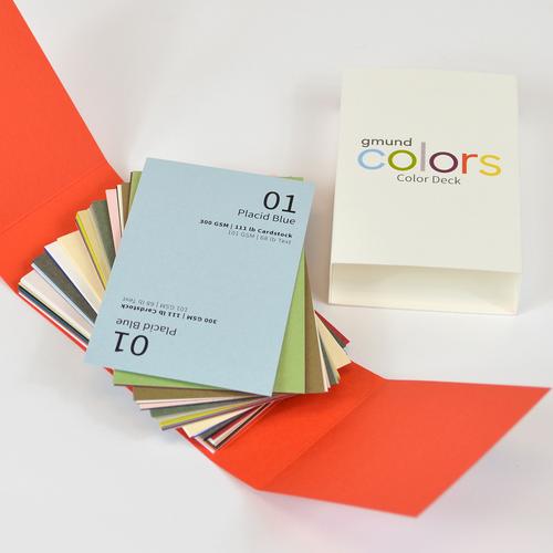 The Color Deck - Gmund Colors MATT