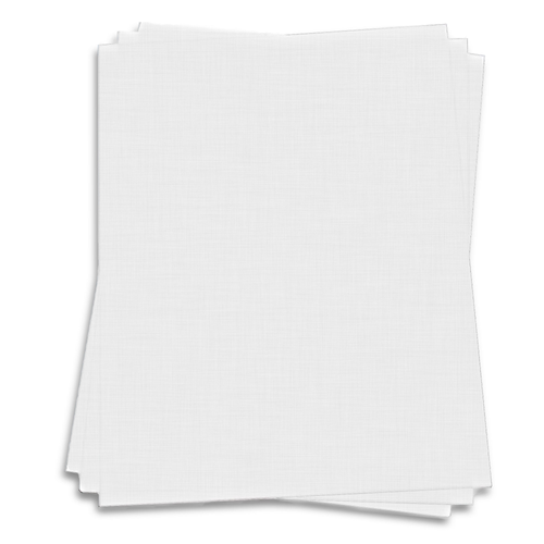 White Linen 50 Qty. 11 x 17 Cardstock