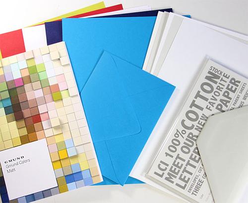 Letterpress Sample Test Kit