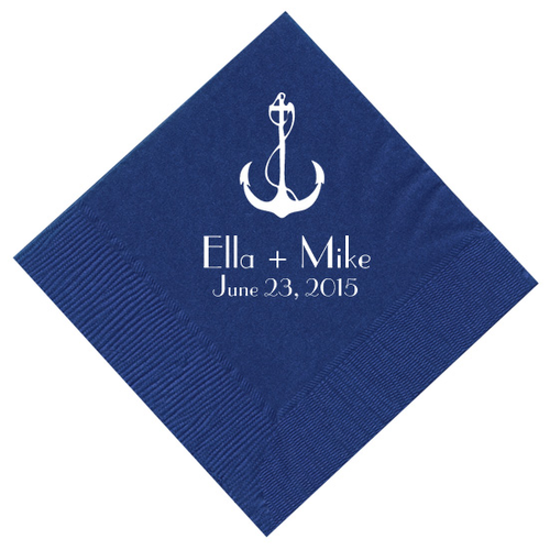 Anchor Personalized Napkins