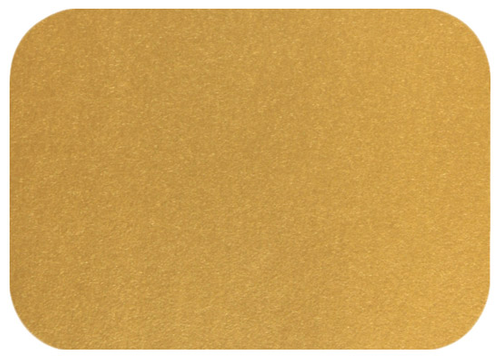 A1 Stardream Antique Gold Blank Cards - Round Corner, 105lb Cover