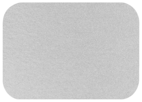 A1 Stardream Silver Blank Cards - Round Corner, 105lb Cover