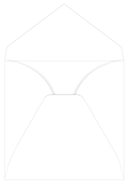 White Unlined Inner Envelopes - 7 1/4 x 7 1/4 LCI Smooth 70T