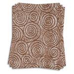 Uzumaki Chocolate Brown Tissue 8 1/2 x 11 JPP Tissue 17lb Text