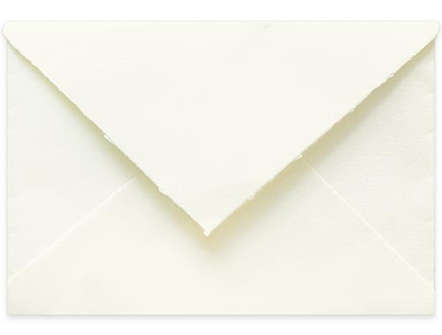 S4 Magnolia Cotton Handmade Escort Envelopes, Arpa