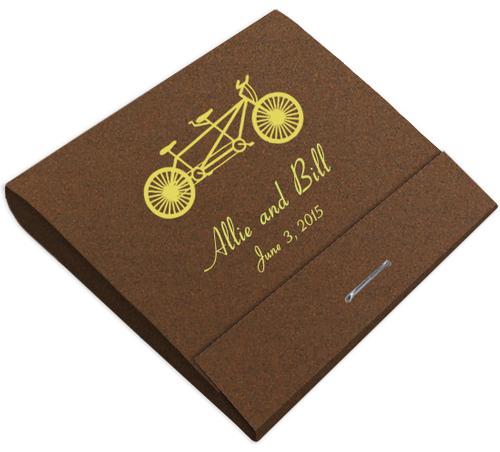 Bike for 2 Custom Printed Matches