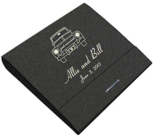 Wedding Car Custom Printed Matches