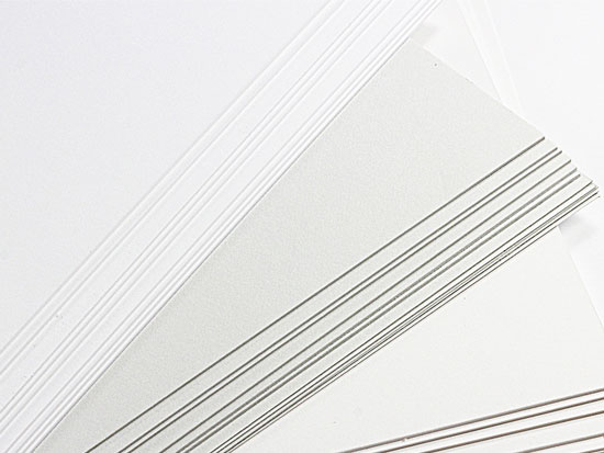 double thick card stock paper  extra thick