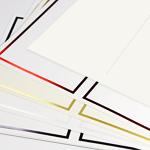 Foil Perforated Menu Cards