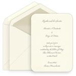 Classic Printable Invitations