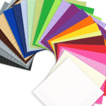 Color Paper Napkins Un-Printed