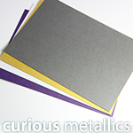 Curious Metallics Cards