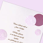 DIY Polka Dot Invitation Design
