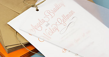 Vellum Invitation Ideas