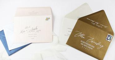 A7 Metallic Envelopes