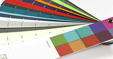 About Colors Paper Selector