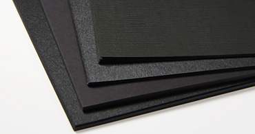 Black Blank Cards