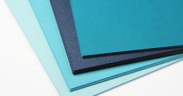 Blue Blank Cards