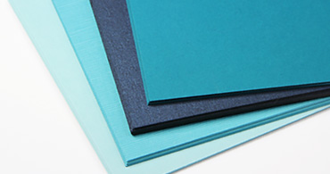 Blue Paper & Blue Envelopes