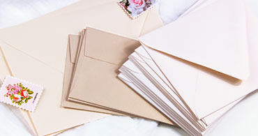 Blush Envelopes