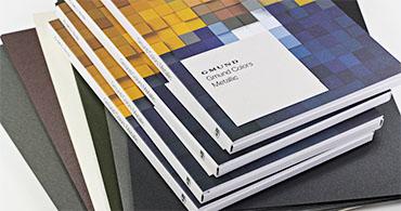 Gmund Colors Metallic Swatchbooks