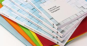 Gmund Colors Transparent Swatchbook
