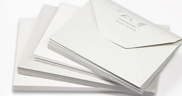 100% Cotton Envelopes