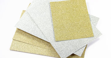 MirriSparkle Glitter Blank Cards