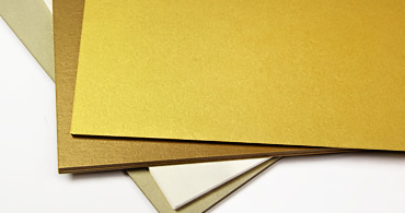 Gold Blank Cards