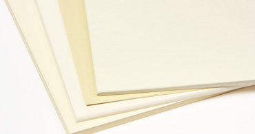 Ivory Blank Cards