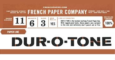Dur-O-Tone Envelopes