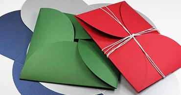 Pochette Petal Folds