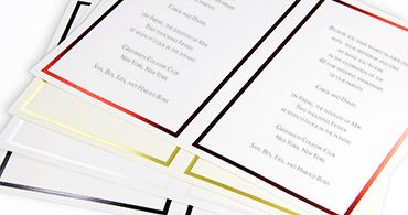 Easy Print Invitations