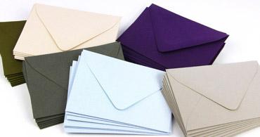 Colors MATT Envelopes