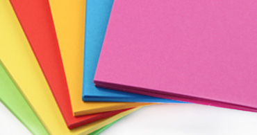 Neon Blank Cards