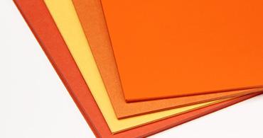 Orange Cardstock Paper